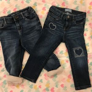 Gap kids girls 3T jeans